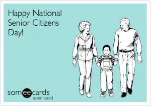 Happy National Senior Citizens Day