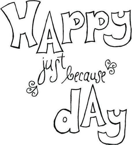 Happy Just Because Day