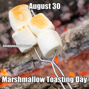 August 30 Marshmallow Toasting Day