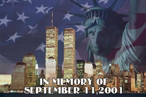 In memory of september 11 2001
