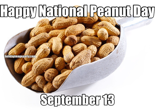 Happy National Peanut Day September 13