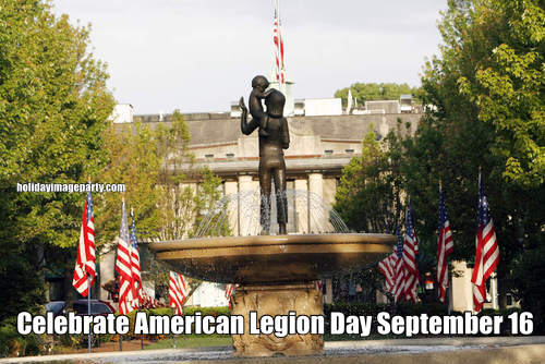 Celebrate American Legion Day September 16