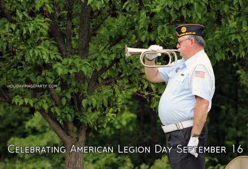 Celebrating American Legion Day September 16