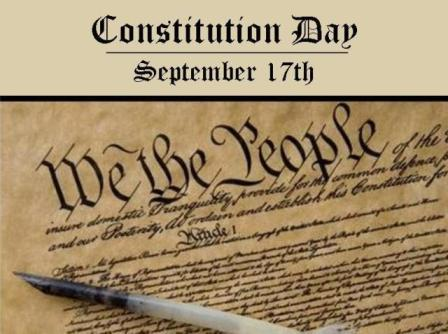 Constitution Day September 17th
