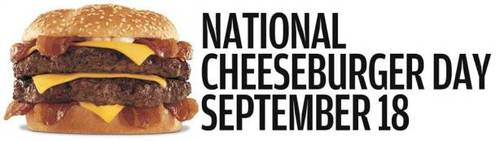 National Cheeseburger Day September 18