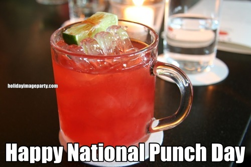 Happy National Punch Day