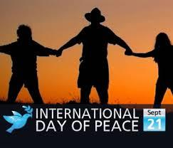 International Day Of Peace Sept 21