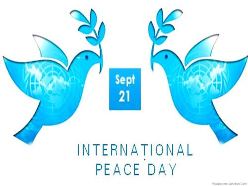 Sept 21 International Peace Day