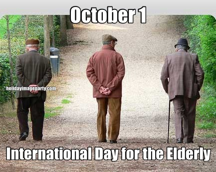 October 1 International Day for the Elderly