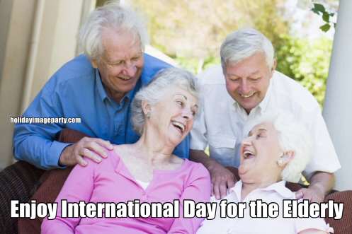 Enjoy International Day for the Elderly