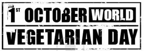 1st October World Vegetarian Day