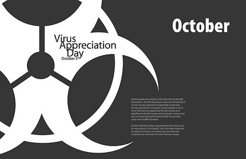 Virus Appreciation Day October 3