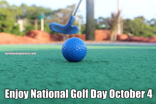 Enjoy National Golf Day October 4