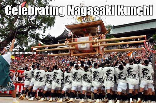 Celebrating Nagasaki Kunchi