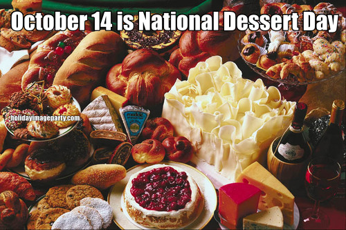 October 14 is National Dessert Day