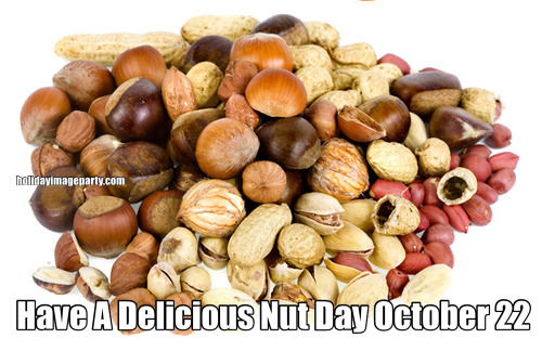 Have A Delicious Nut Day October 22