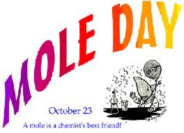 Mole Day October 23