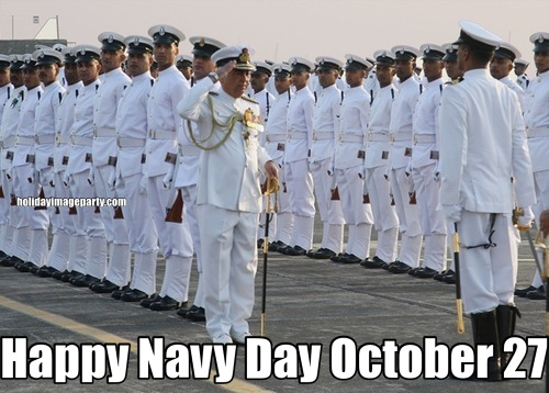 Happy Navy Day October 27