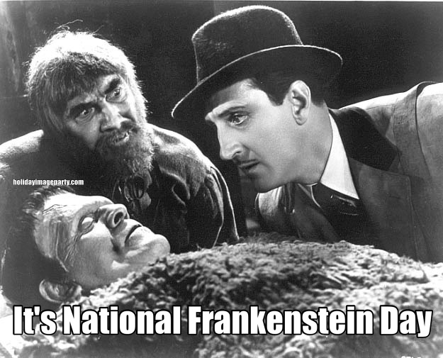 It's National Frankenstein Day