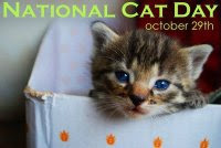National Cat Day October 29th