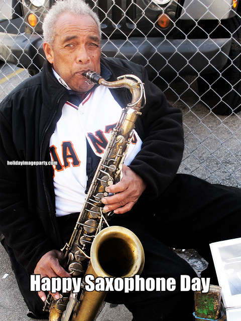 Happy Saxophone Day