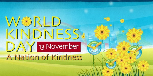 World Kindness Day November 13 A Nation of kindness