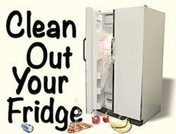 Clean out your fridge