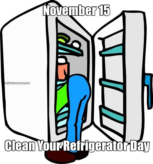 November 15 Clean Your Refrigerator Day