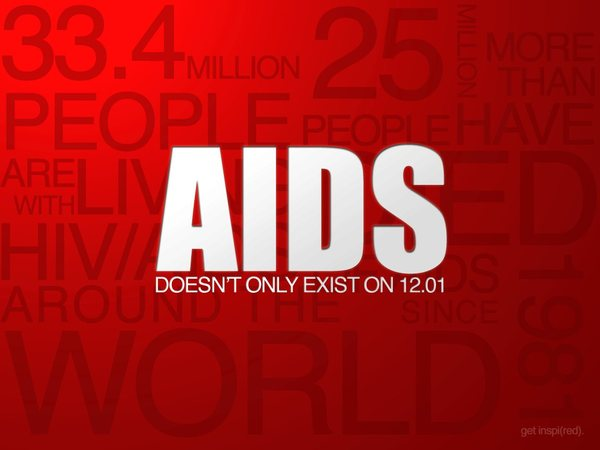 Aids doesn't only exist on 12-01