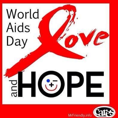 World Aids Day Love and Hope