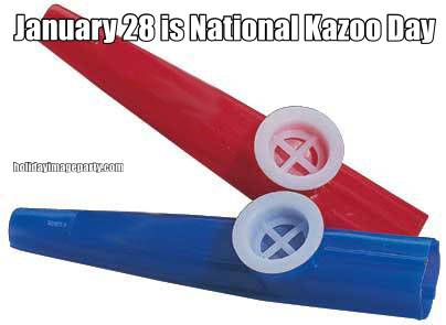 January 28 is National Kazoo Day