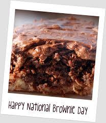 Happy National Brownie Day