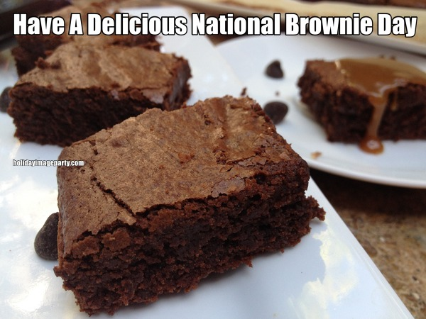 Have A Delicious National Brownie Day