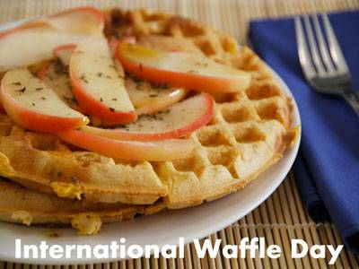 International Waffle Day