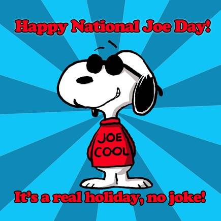 Happy National Joe Day!