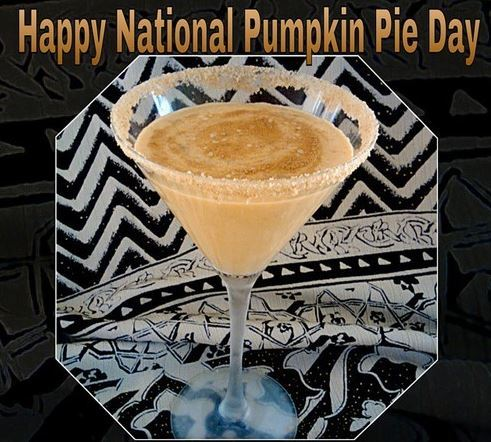 Happy National Pumpkin Pie Day