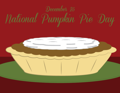 December 25 National Pumpkin Pie Day