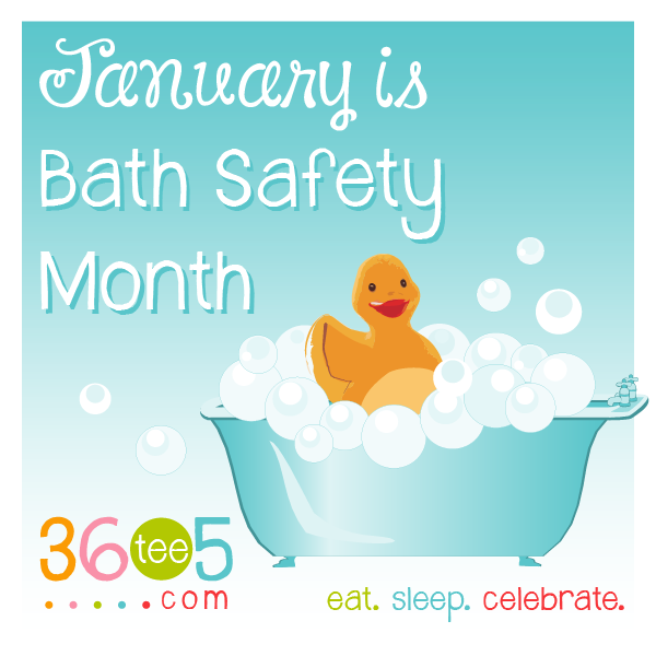 January is Bath Safety Month