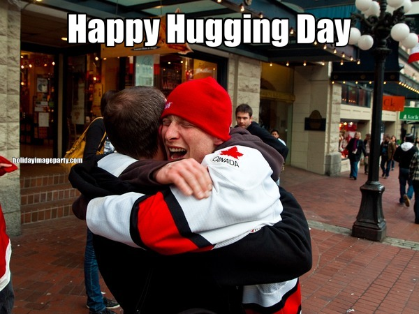 Happy Hugging Day