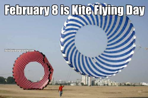 February 8 is Kite Flying Day