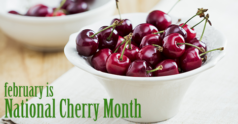 February is National Cherry Month