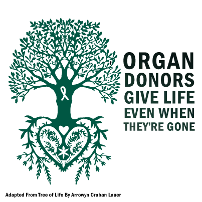 Organ donors give life