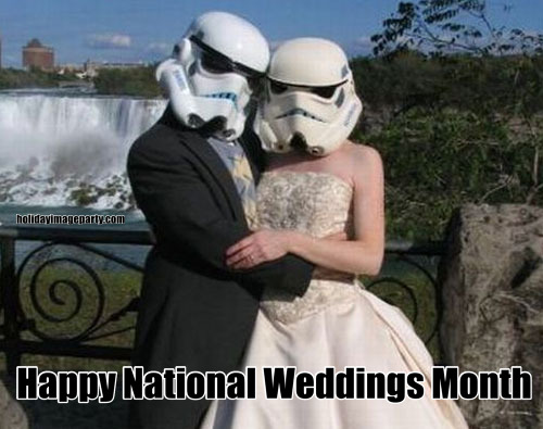 Happy National Weddings Month