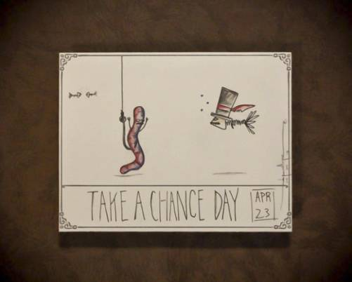 Take a Chance Day April 23