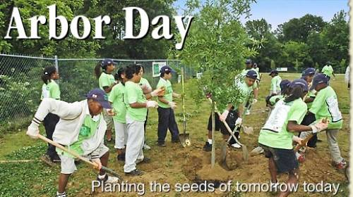 Arbor Day Planting the seeds of tomorrow today