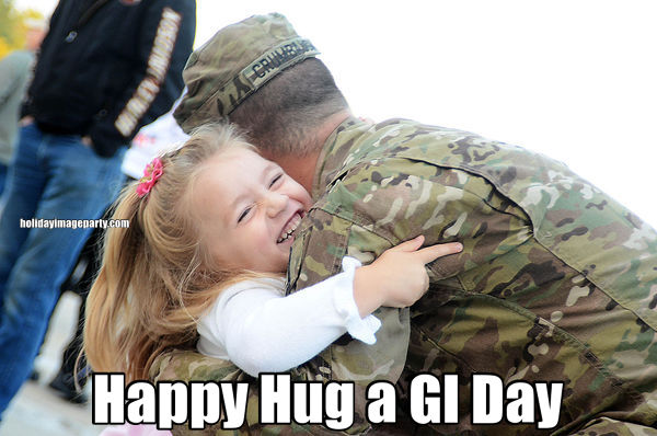 Happy Hug a GI Day