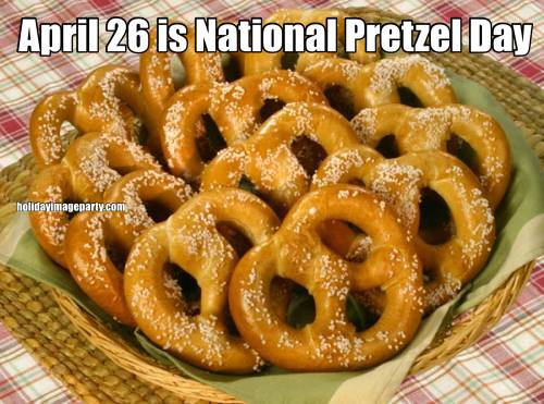 April 26 is National Pretzel Day
