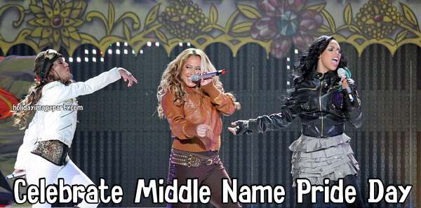 Celebrate Middle Name Pride Day
