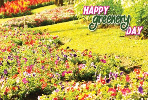 Happy Greenery Day
