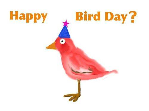 Happy Bird Day?